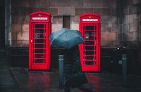 engeland brittannie telefooncel rood