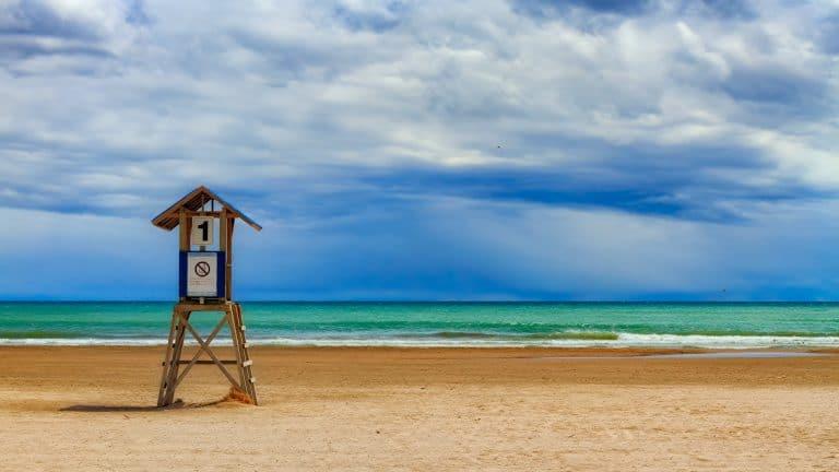 strand strandwacht huisje