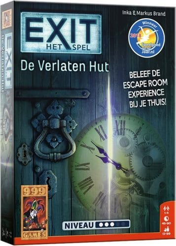 EXIT De Verlaten Hut 999 games