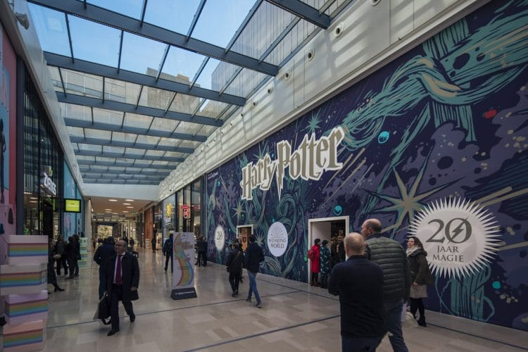 harry potter popup store
