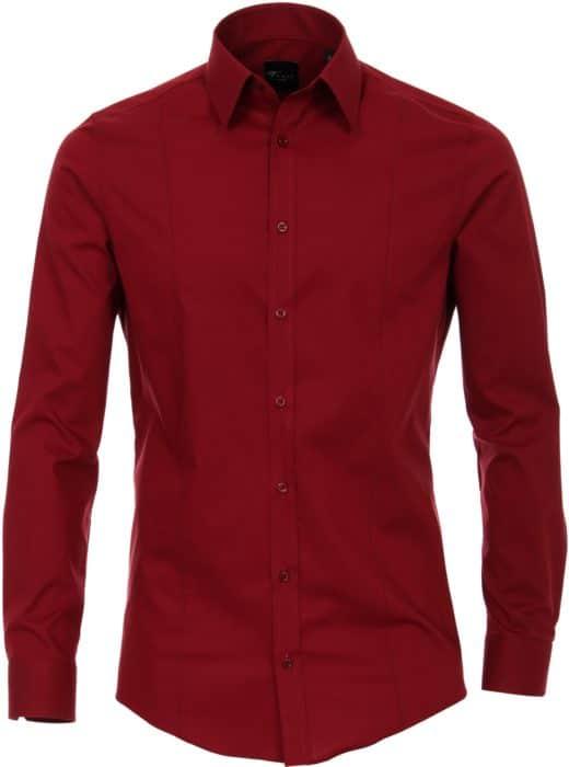 venti overhemd rood
