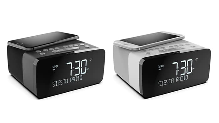 siesta charge wekkerradio