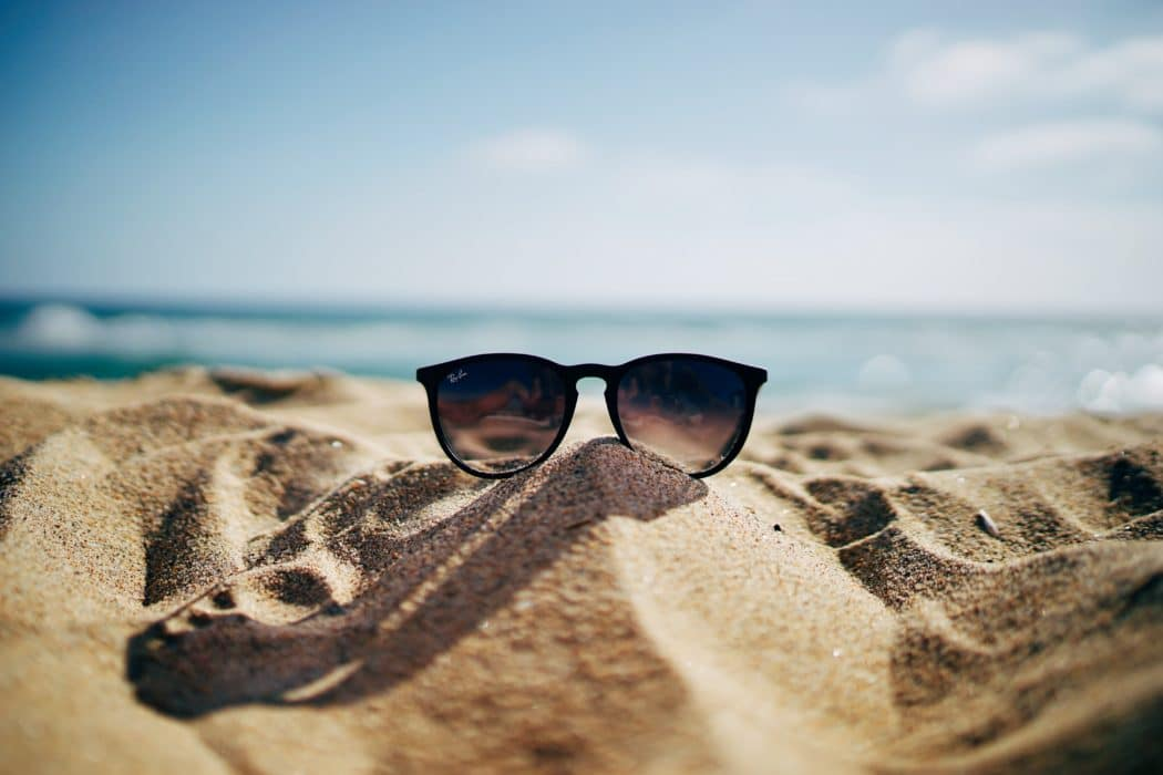 zomer strand zonnebril