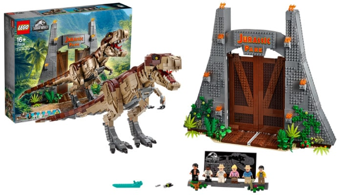 LEGO Jurassic World 75936 T rex Rampage