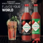tabasco spicy tomato drink sfeer