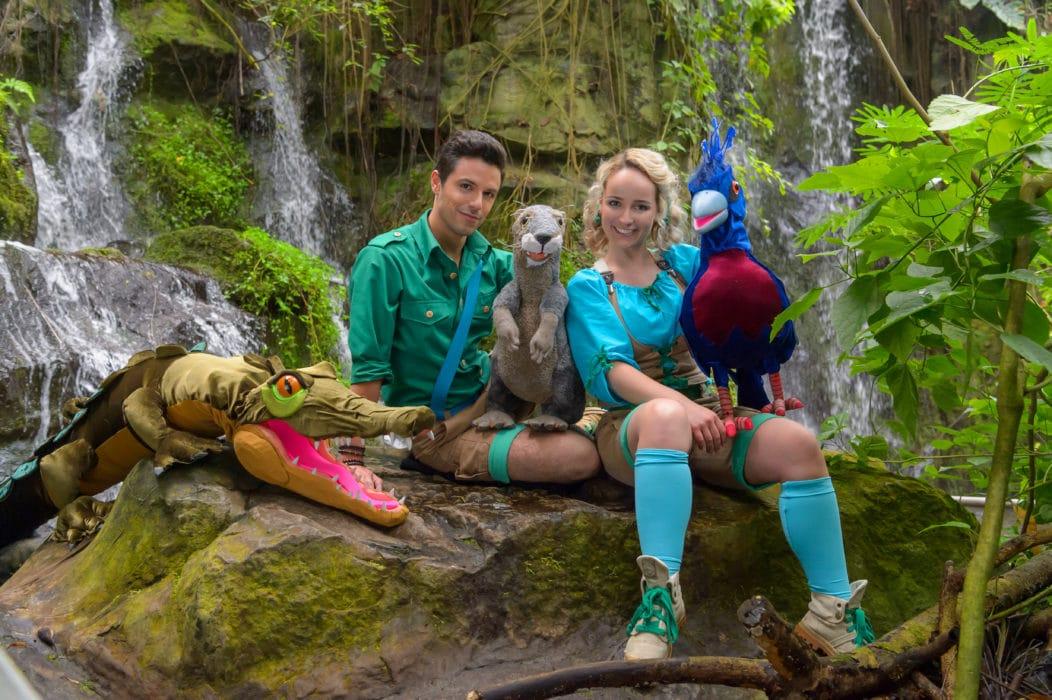 Op avontuur in de jungle met Zoë & Silos
