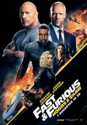 Fast & Furious - Hobbs & Shaw filmposter