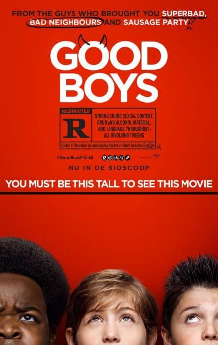 good boys filmposter
