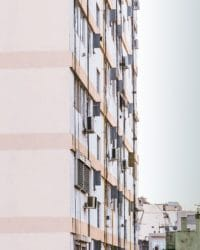 airco flatgebouw