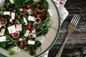 sla groente salade