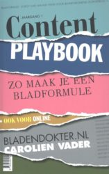 Content Playbook Carolien Vader