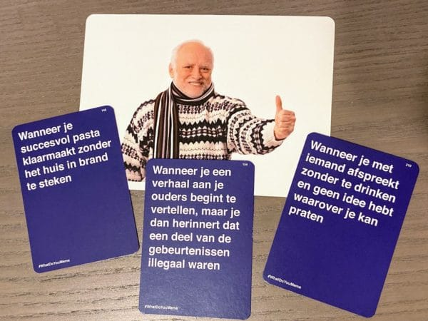 What do you meme kaarten