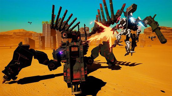 daemon x machina nintendo switch 3