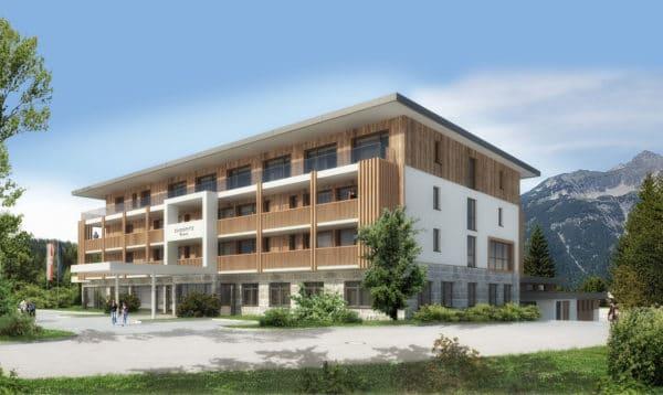Zugspitz Resort Neubau Außenansicht