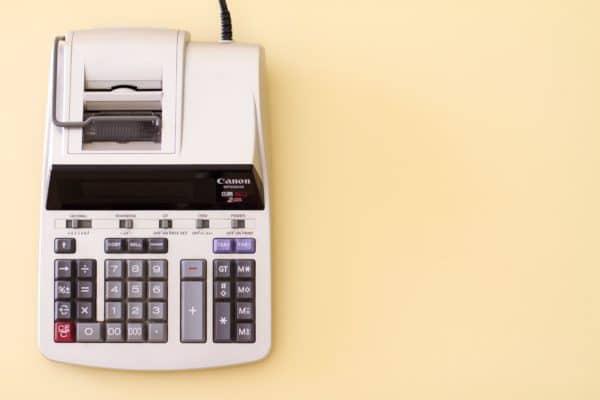 boekhouden rekenmachine