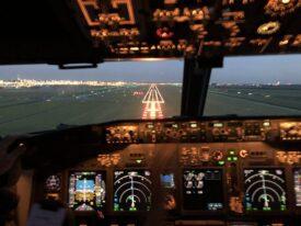 vliegangst overwinnen uitzicht vanuit cockpit