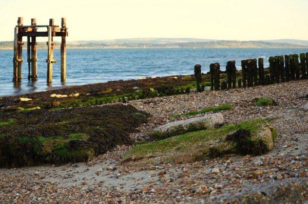 Lepe, Strand, Southampton, Verenigd Koninkrijk