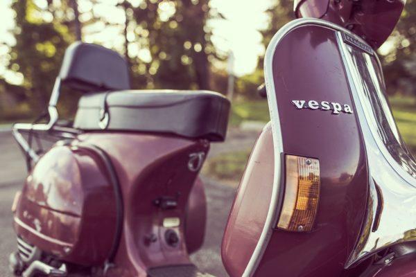 Vespa scooter 2