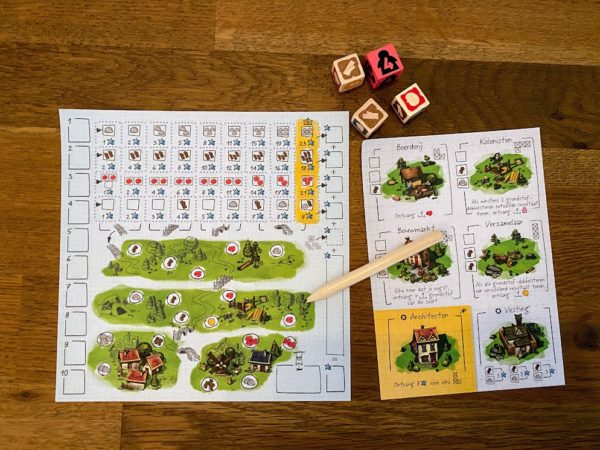 imperial settlers roll and write spelmateriaal