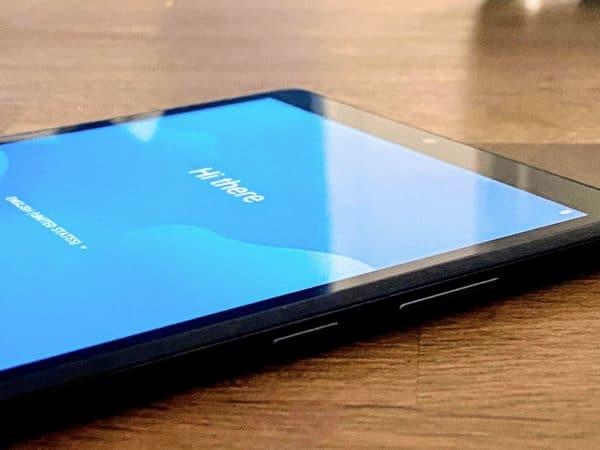 Lenovo smart tab M8 knopjes