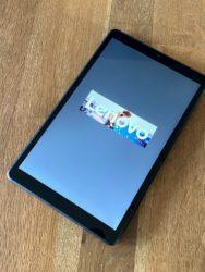 Lenovo smart tab M8 scherm