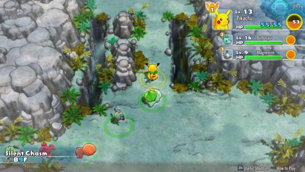 Pokemon Mystery Dungeon Rescue Team DX screenshot 2