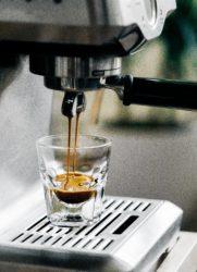 espresso zetten
