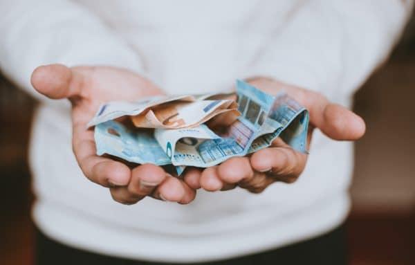 geld ontvangen euro