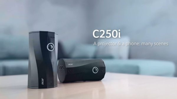 Acer C250i projector 1