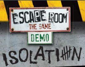 escape room the game demo isolation