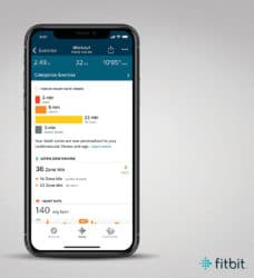 fitbit charge 4 hartslagzone 1