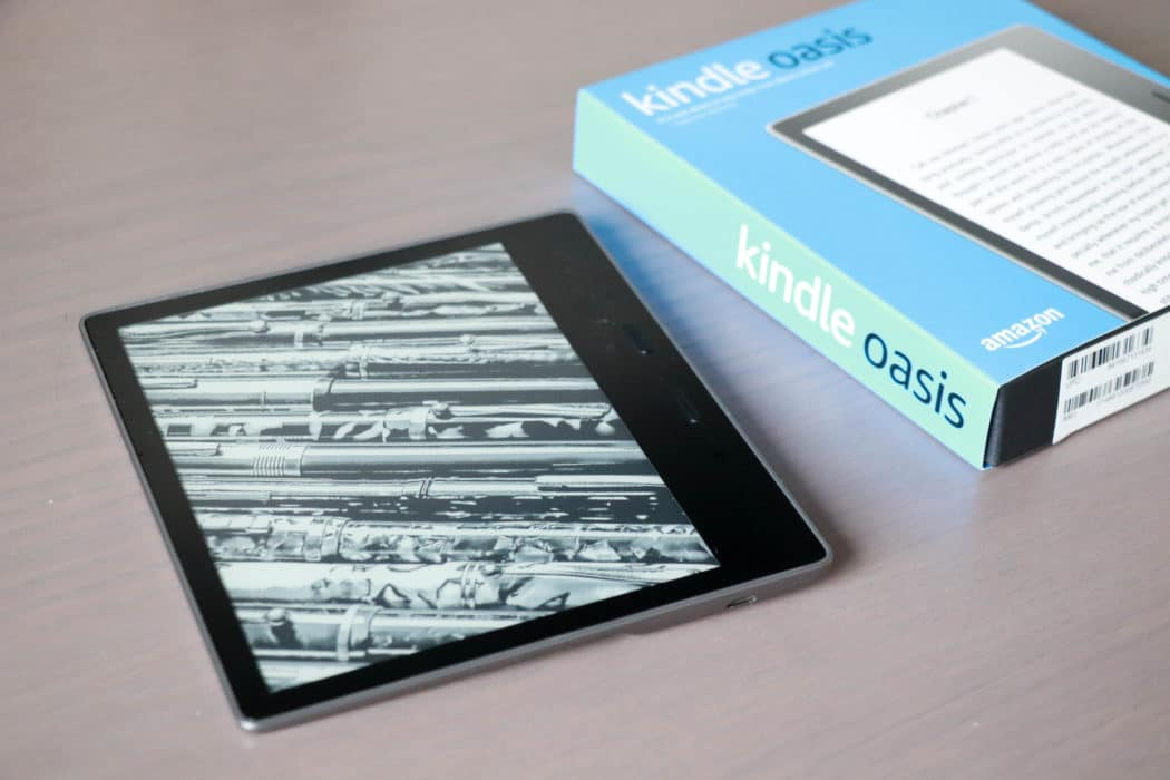 review amazon kindle oasis 1 van 6
