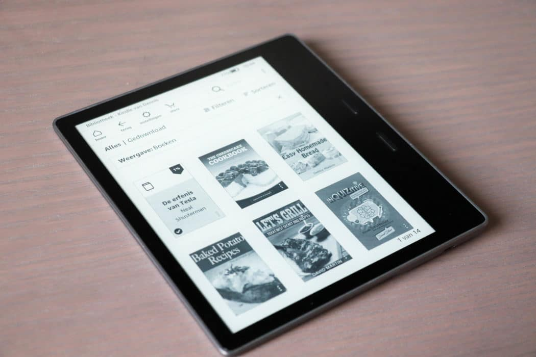 review amazon kindle oasis 4 van 6