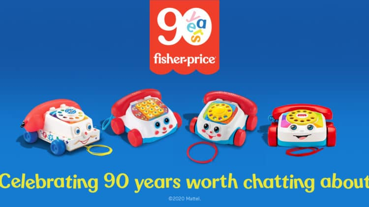fisher price 90 jaar