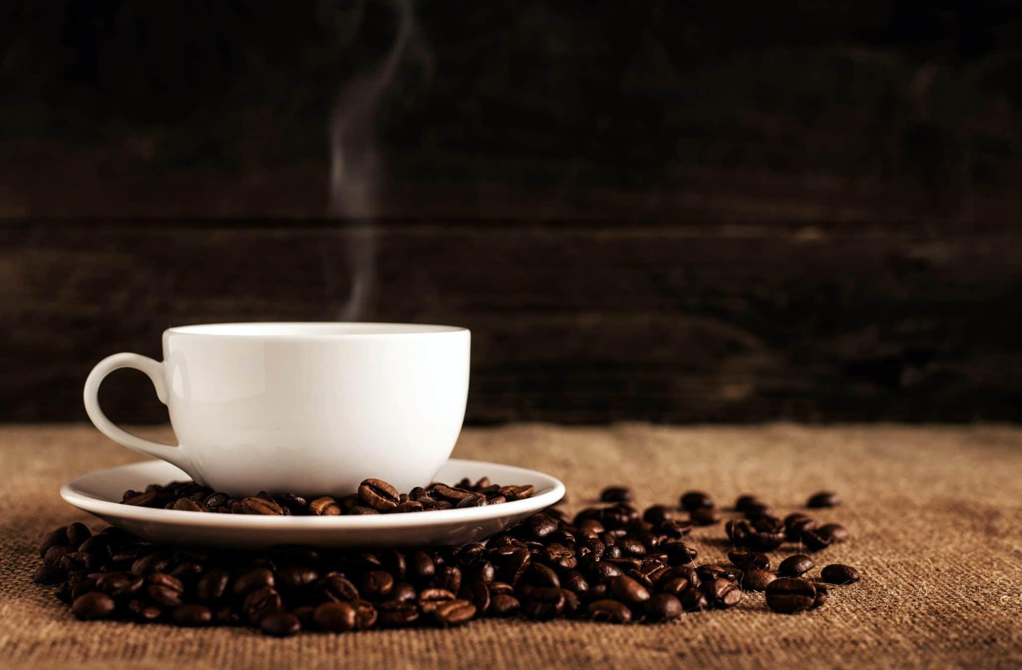 koffie damp koffiebonen