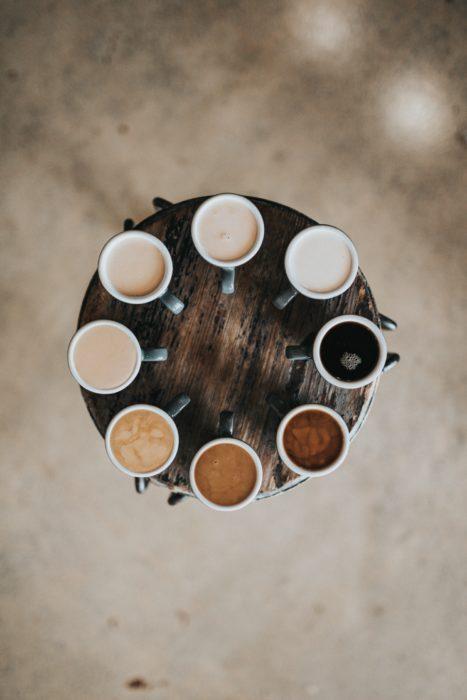 koffiesoorten kleuren 1