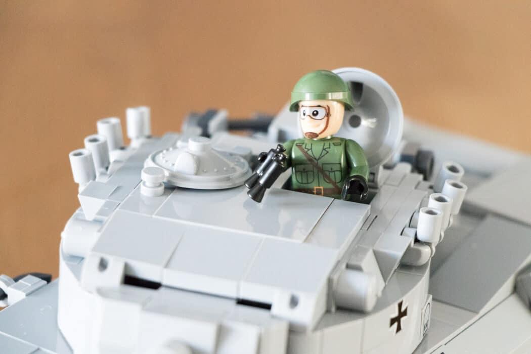 Cobi Leopard tank
