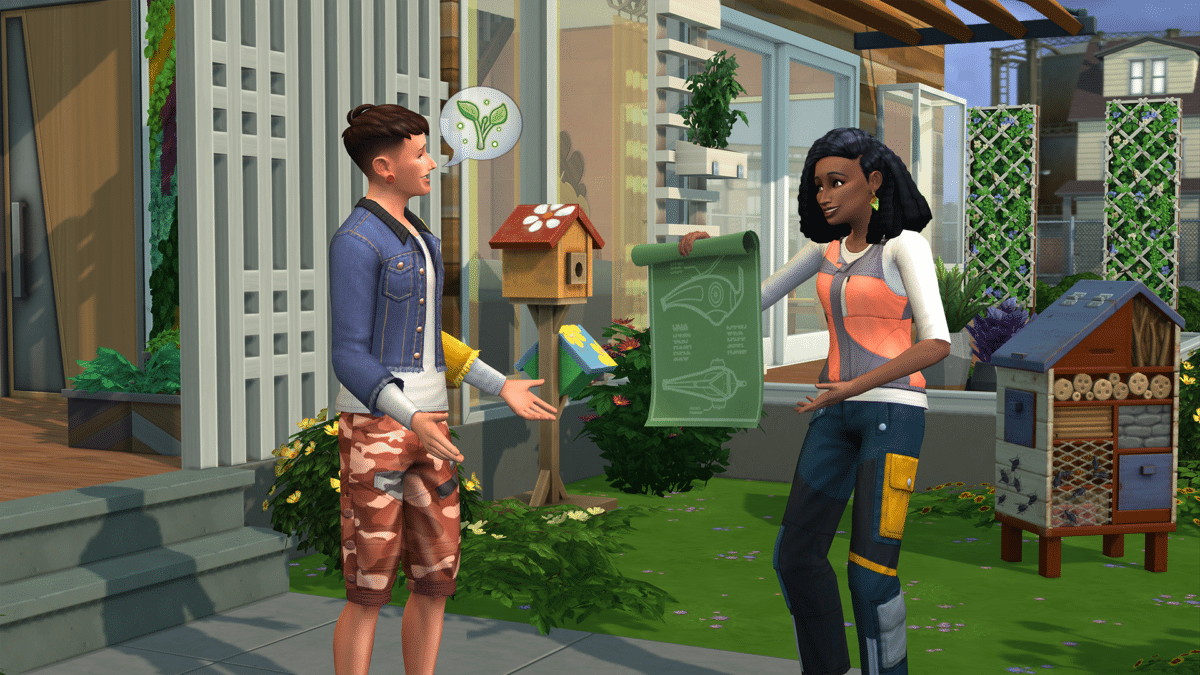 The Sims 4 ecologisch leven