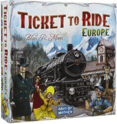 Ticket to Ride Europe Asmodee