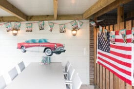 decoratie staycation vakantie thema Amerika 2 van 5
