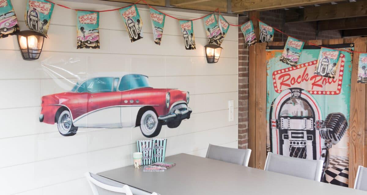 decoratie staycation vakantie thema Amerika 5 van 5