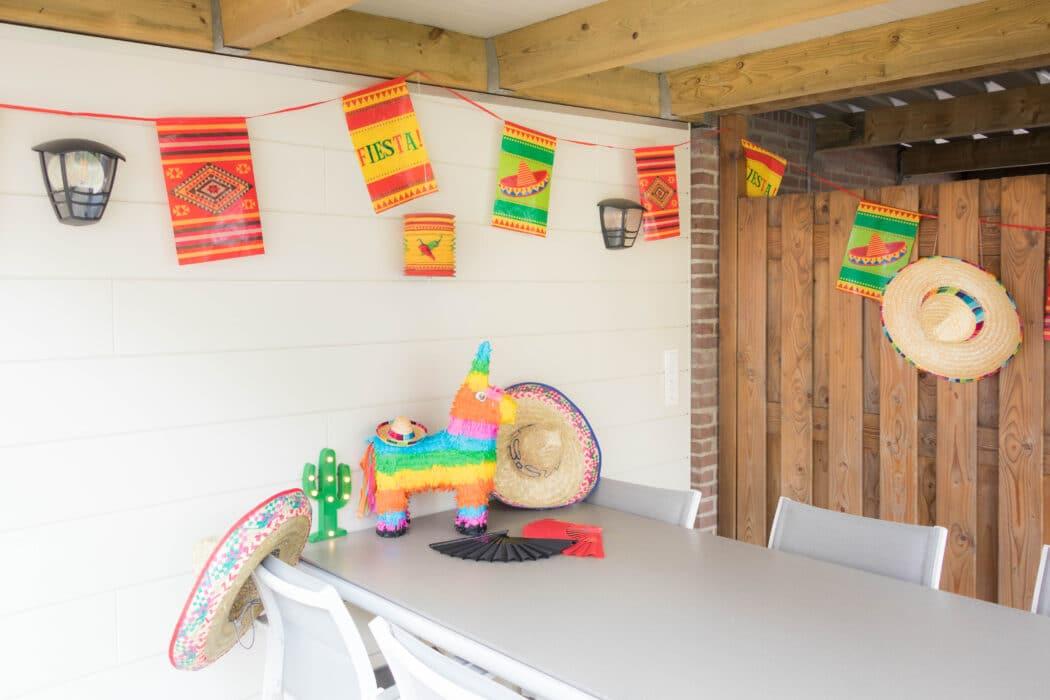 decoratie staycation vakantie thema Mexico 1 van 11
