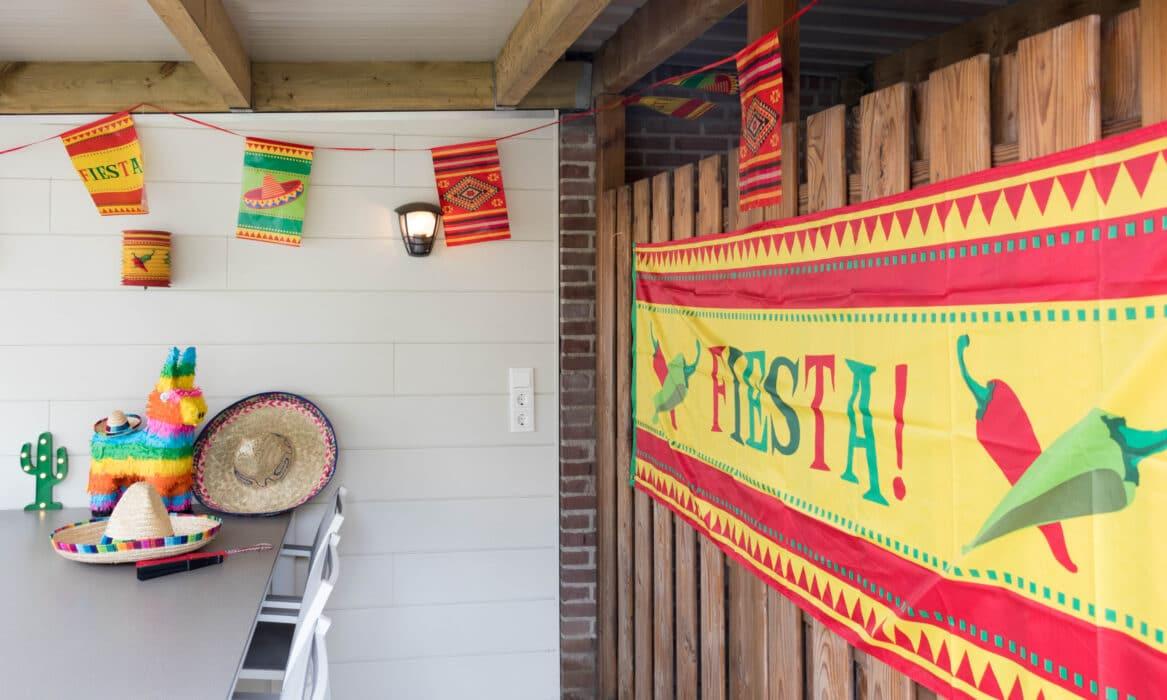 decoratie staycation vakantie thema Mexico 10 van 11