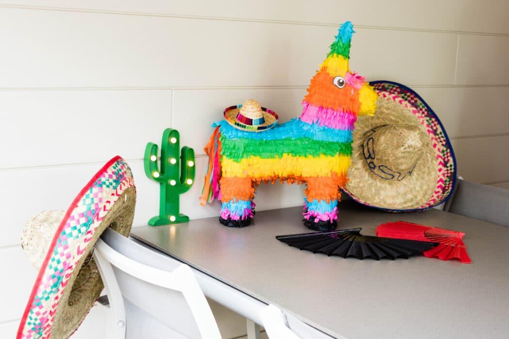 decoratie staycation vakantie thema Mexico 2 van 11