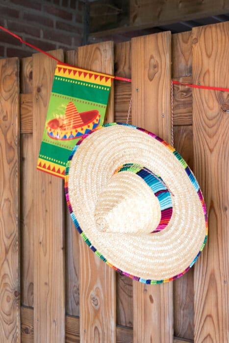 decoratie staycation vakantie thema Mexico 5 van 11 1