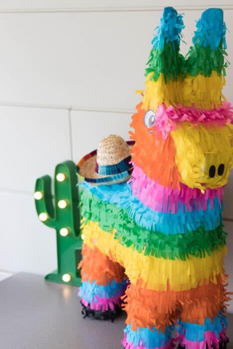 decoratie staycation vakantie thema Mexico 7 van 11