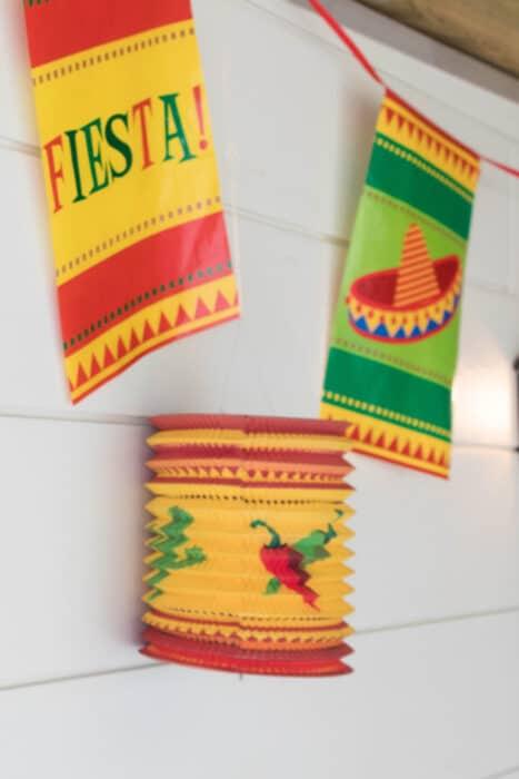 decoratie staycation vakantie thema Mexico staand 1 van 1
