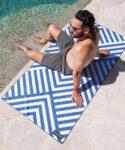 tesalate strand handdoek