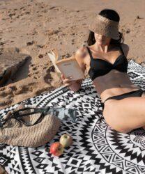 tesalate strand handdoek voor 2