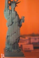 vrijheidsbeeld van lego